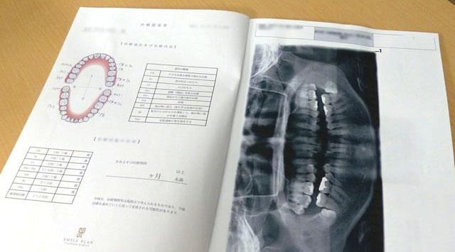 さくら歯科クリニック・治療計画書サンプル